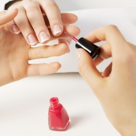 MANUCURE + POSE DE VERNIS SEMI-PERMANENT COULEUR